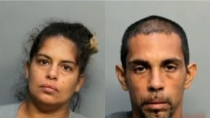 Arrestan a una pareja en Hialeah acusada de robo