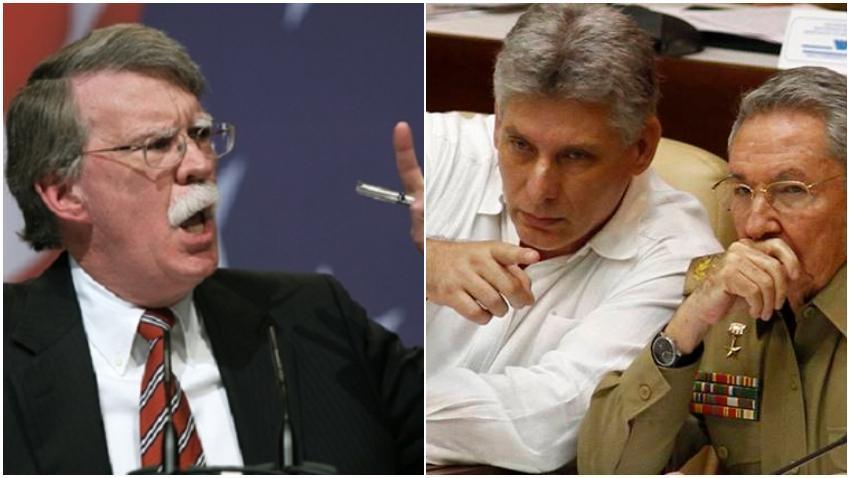 John Bolton asegura que si cubanos abandonan Venezuela, Maduro duraría pocas horas en Miraflores