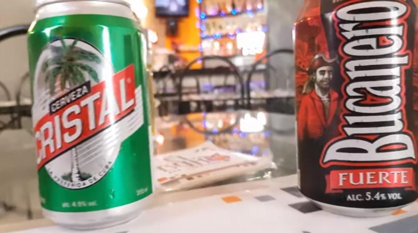 Las cervezas Bucanero y Cristal siguen perdidas en Cuba