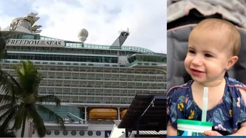 El abogado de la familia cuya hija cayó de un crucero de Royal Caribbean dice que el abuelo no dejó caer a la niña