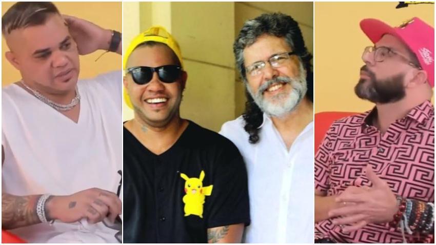 Reguetonero cubano El Taiger explica la foto junto a Abel Prieto
