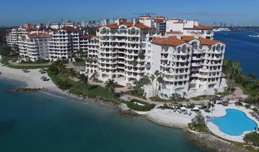 A la venta espectacular condominio en Fisher Island Drive por $ 11.995 millones