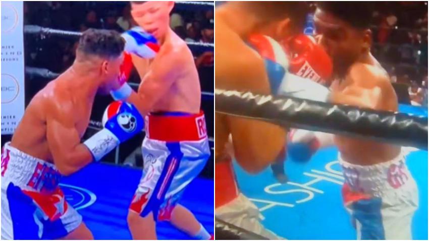 Boxeador cubano Yuriorkis Gamboa derrota por Knockout a Román Martínez en el segundo asalto