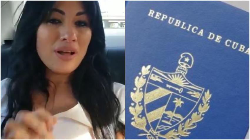 Actriz cubana Heydy González pierde su pasaporte cubano en Miami y está desesperada por regresar a Cuba