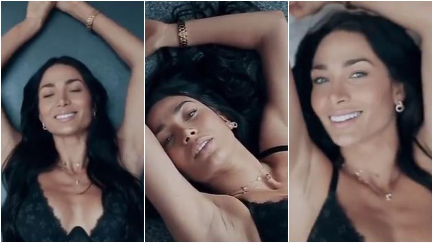 La modelo cubana Lisandra Silva muestra parte de sus sesiones de fotos para Victoria's Secret