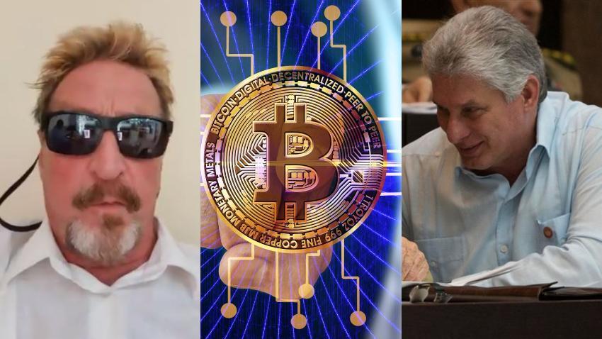 Multimillonario estadounidense y candidato a la presidencia de Estados Unidos, John McAfee, ofrece su ayuda a Cuba para crear una criptomoneda