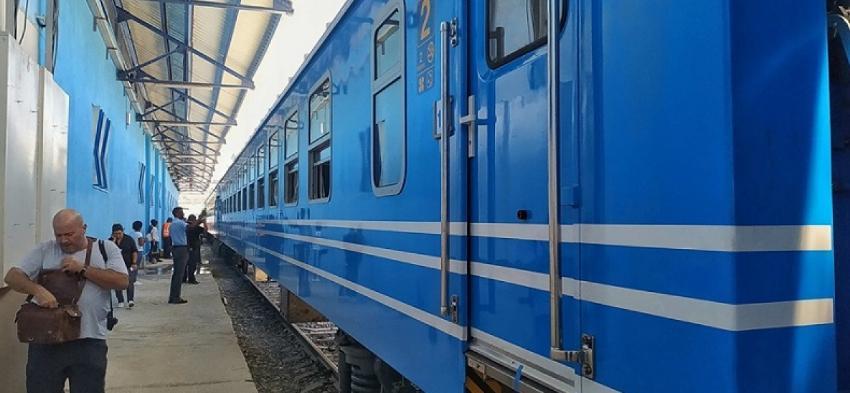 Comienzan a operar los nuevos trenes con vagones chinos, con viajes desde La Habana a Santiago de Cuba