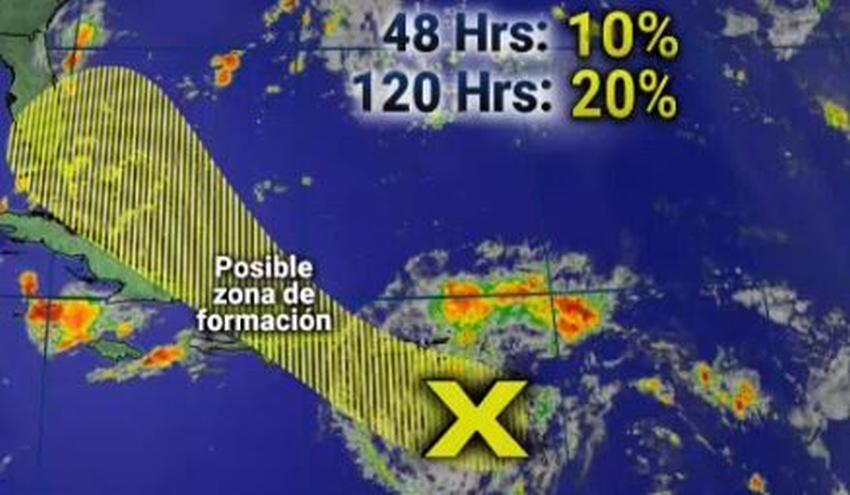 Onda tropical podría traer varios días de fuertes lluvias al Sur de la Florida