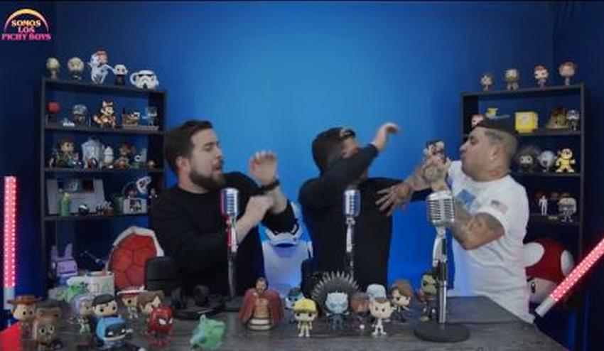 """Los Pichy Boys simulan una bronca con Osmani García en su primer show en vivo """"Somos los Pichy Boys"""""""