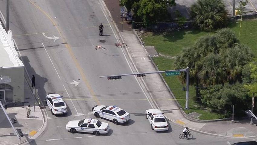 Pelea en Miami termina con dos personas heridas a causa de machetazos