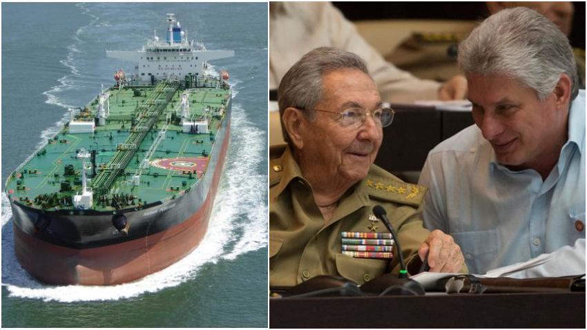 Venezuela sigue enviando a diario unos 10 mil barriles de petróleo y derivados a La Habana, pese a sanciones de Washington