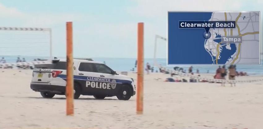 Ocho heridos por impacto de un rayo en una playa de Florida, uno de ellos se encuentra en estado crítico