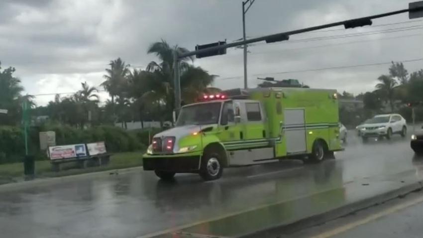 Un niño es hospitalizado tras la aparente caída de un rayo en un vecindario del noreste de Miami Dade