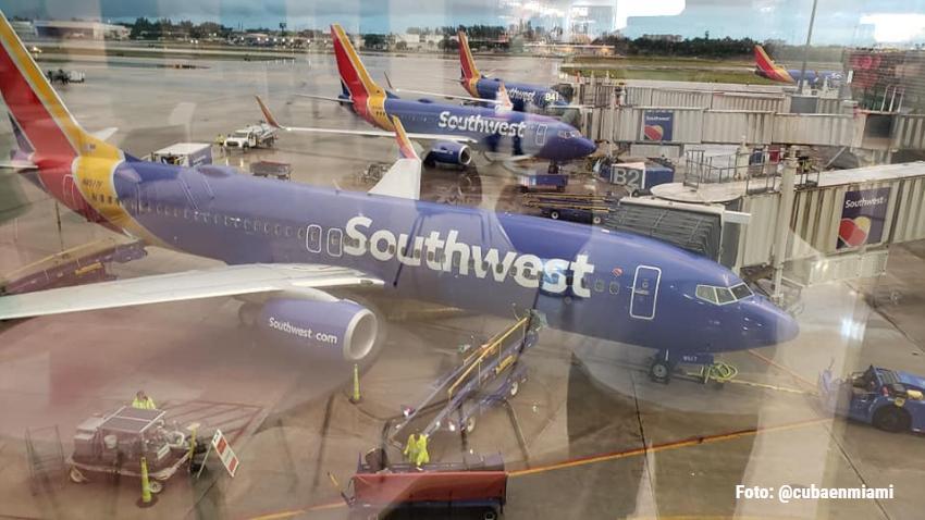 Southwest Airlines cancela vuelos a varios destinos incluido Cuba