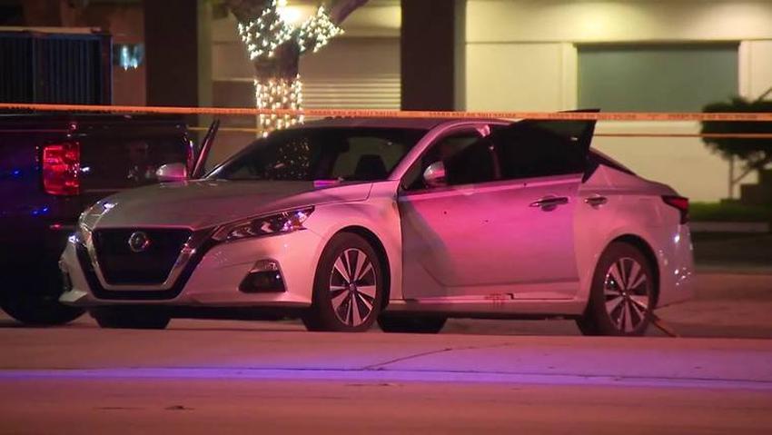 Dos heridos después de que alguien disparara desde un auto en movimiento en la I-95