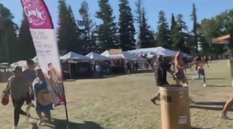 Reportan tres muertos y al menos 11 heridos en festival de comida en California