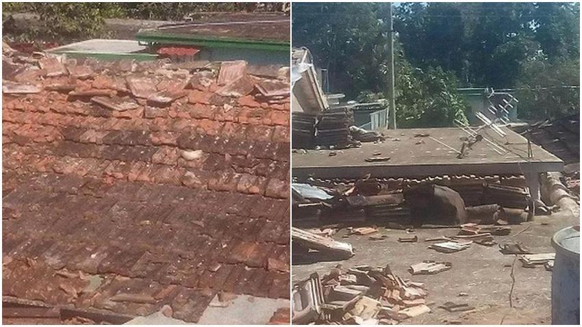 Tornado afecta poblado de Jaruco, en la provincia Mayabeque