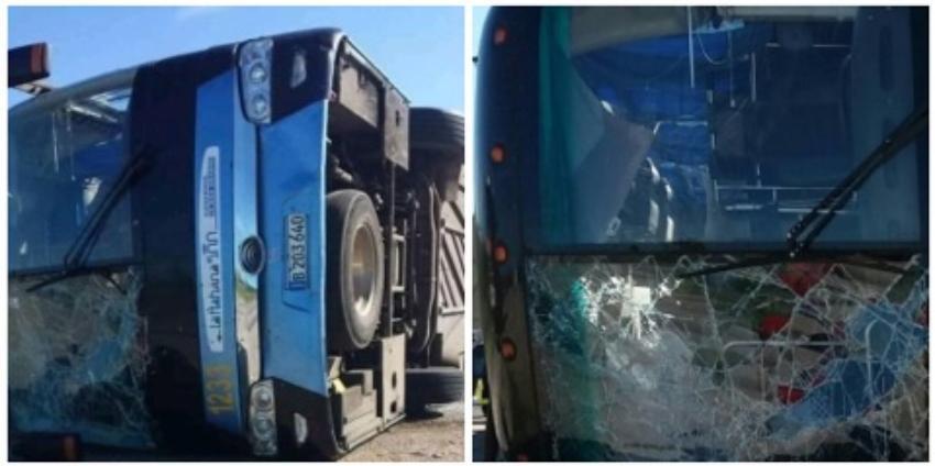 Un total de 24 heridos se reportaron en un nuevo accidente de tránsito que involucró un ómnibus Yutong en la Autopista Nacional