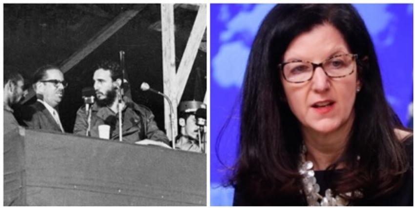Diplomática estadounidense recuerda que propiedades confiscadas en Cuba solo benefician a Díaz-Canel y al clan Castro