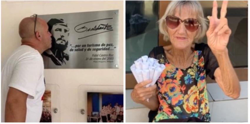 Cubano que vive en EEUU incita a chivatonas para que hostiguen a una anciana por vender maní en la calle, y le llaman a la policía