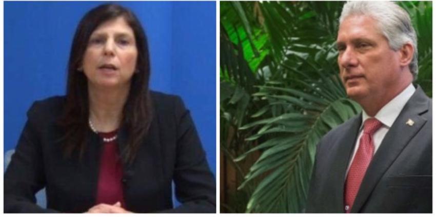 Diplomática estadounidense en La Habana denuncia aumento de la represión en Cuba