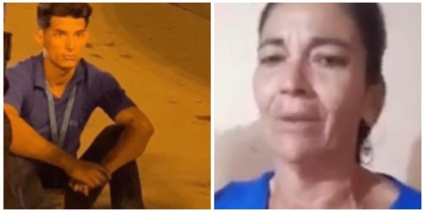 """Conmovedor mensaje de la madre del polizón cubano: """"Yo le pido a Dios que él no regrese, aunque me parta el alma y la vida"""""""