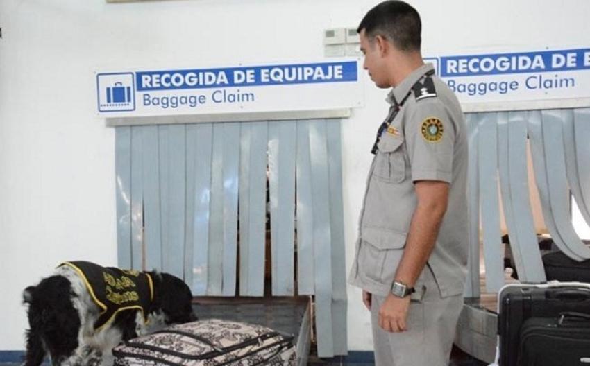 Al menos noventa personas detenidas en aeropuertos de Cuba por intentar ingresar con drogas