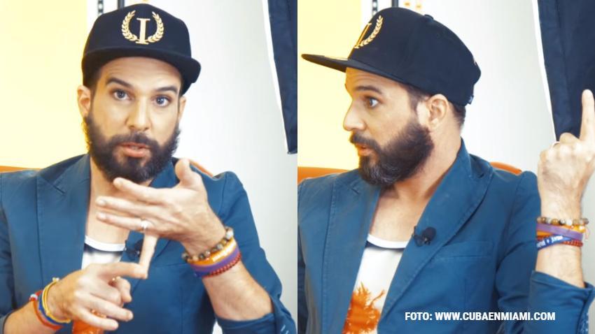 Presentador cubano Alexander Otaola impulsa la campaña #YoSiHabloDePolítica