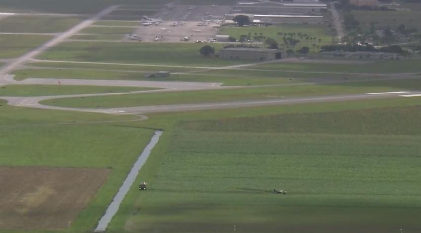 Al menos tres heridos después de que un avión realizara un aterrizaje de emergencia en Miami