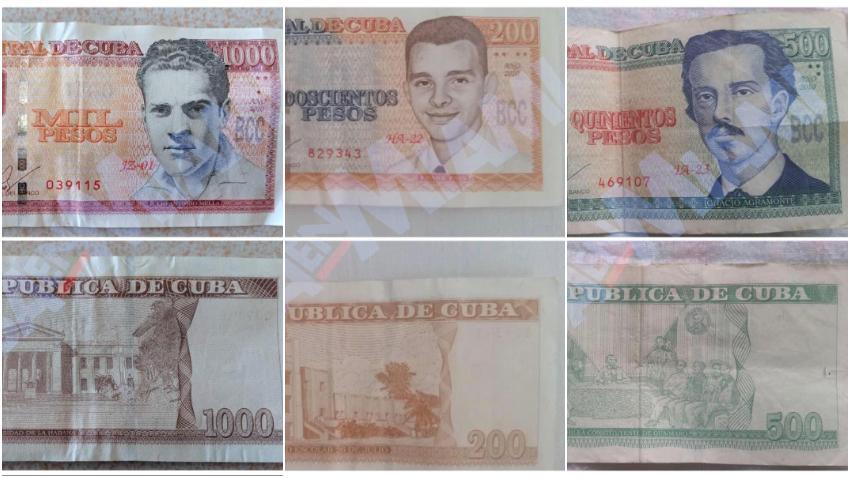 Gobierno de Cuba paga con billetes de 200 y 500 pesos a los que recibieron aumento de salario pero después ningún comercio los acepta