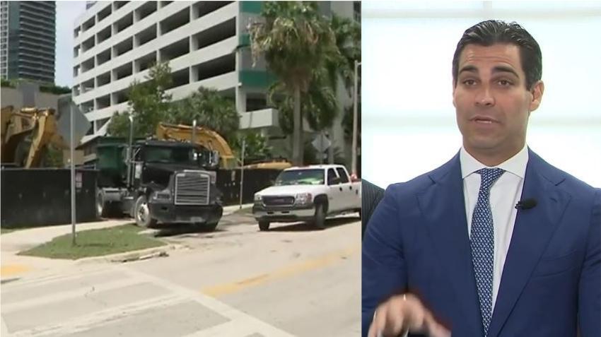 Alcalde de Miami se opone a permitir más pisos en un nuevo edificio en Brickell; el desarrollador lo acusa de una jugada política