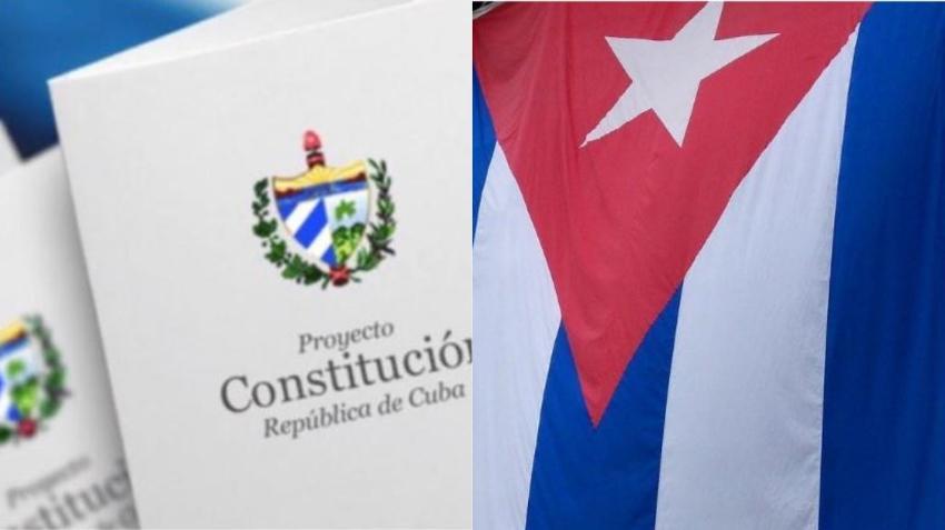 Gobierno cubano imprime 30.000 ejemplares de la Constitución para estudiarla en las escuelas secundarias comenzando en este curso escolar
