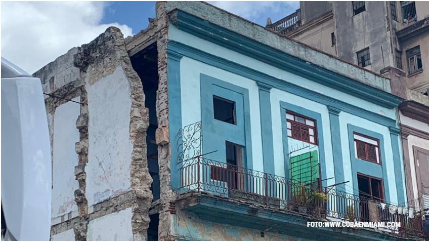 Cubanos se movilizan en redes sociales para reportar lugares en peligro de derrumbe