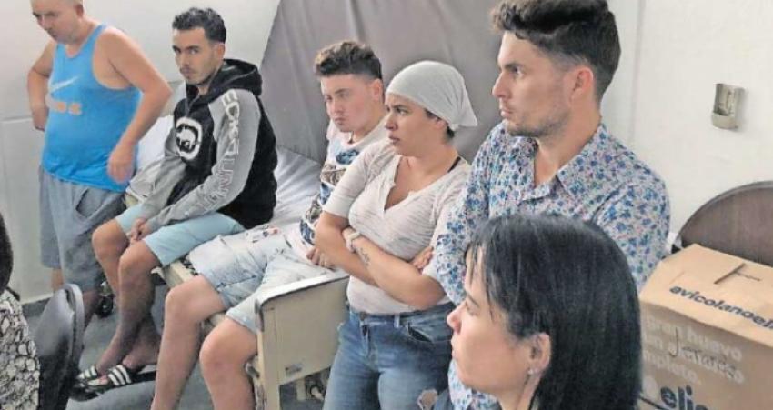 Casi un centenar de migrantes cubanos detenidos en México se encuentran en huelga de hambre, a causa del trato infrahumano que reciben