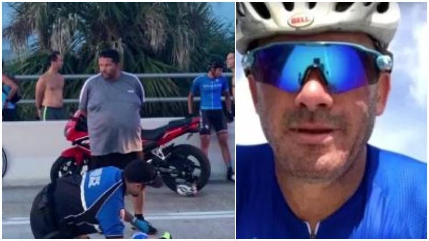 Policía presentó cargos formales contra motociclista que disparó y mató a un ciclista en Miami