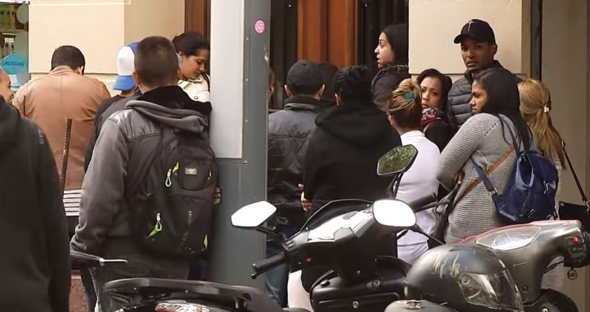 Una veintena de migrantes cubanos víctimas de estafa en Montevideo, Uruguay