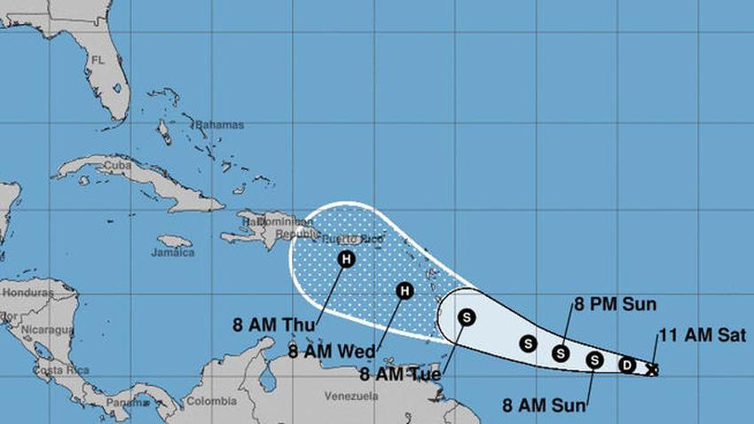 Depresión tropical 5 se fortalece en el Atlántico y podría afectar al Caribe en categoría huracán