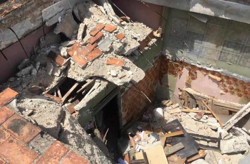 Otro derrumbe en La Habana deja a 5 familias sin vivienda