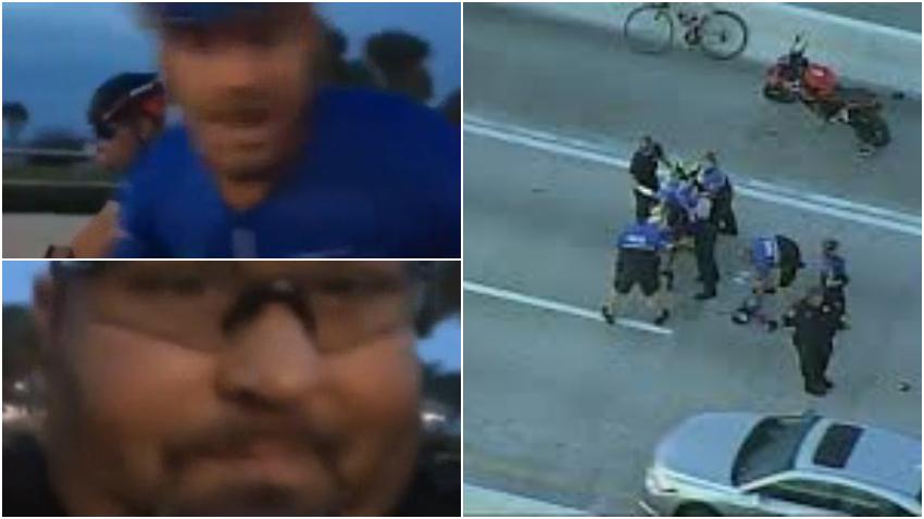 Tragedia en Miami, una pelea entre cubanos, deja a un ciclista muerto y otro hombre arrestado