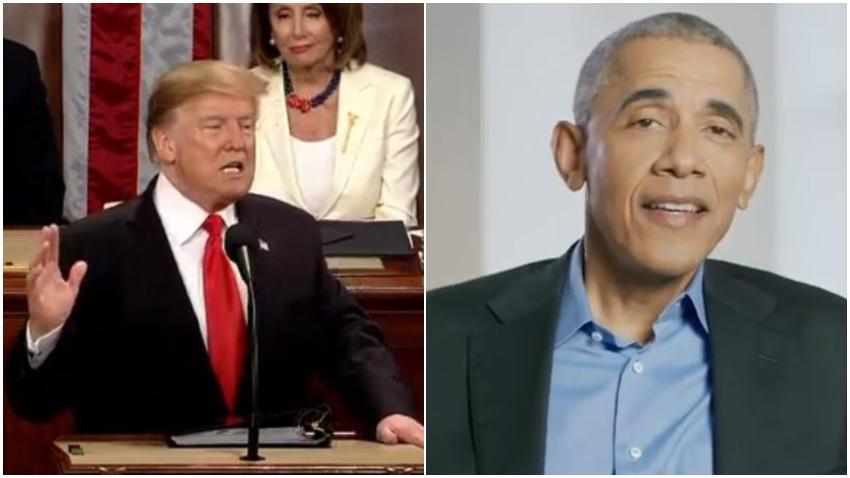 """Donald Trump responde a Obama: """"32 tiroteos masivos durante su reinado"""""""