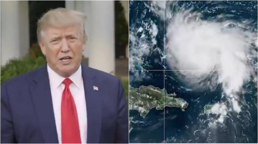 Presidente Trump aprueba estado de emergencia para Florida por el huracán Isaias