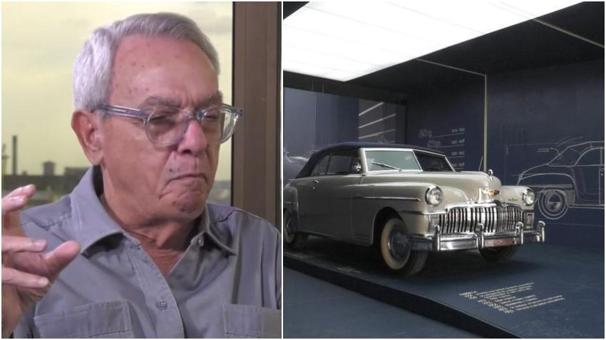 Empresario estadounidense dona a Eusebio Leal un auto DeSoto clásico de 1949