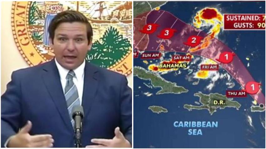 Gobernador de Florida declara el estado de emergencia tras la amenaza del huracán Dorian