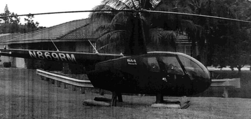 Piloto tendrá que ir a juicio, luego de aterrizar su helicóptero en el patio de la casa de una amiga en Coral Springs