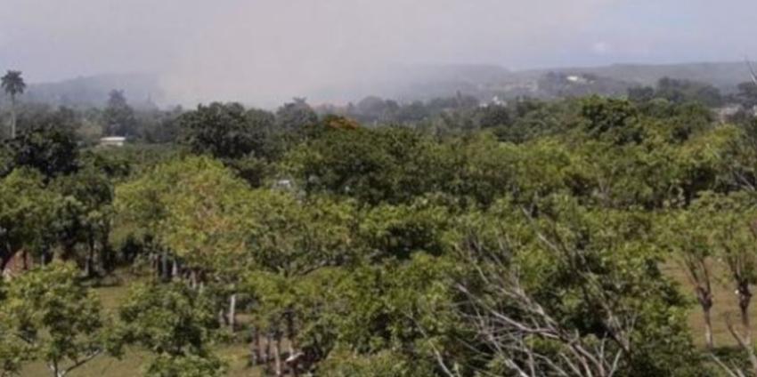 El humo de un basurero en Campo Florido puede estar afectando gravemente la salud de los residentes