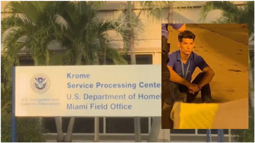 Polizón cubano,Yunier García, saldrá hoy en libertad mientras la Fiscalía apela su caso