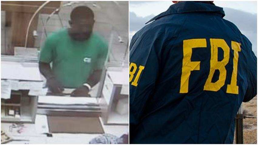 Captan en cámara a un hombre robando un banco en Miami