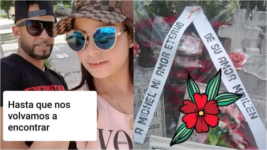 Mailen Diaz dedica sentido mensaje por el cumpleaños de su novio fallecido en el accidente aéreo en La Habana