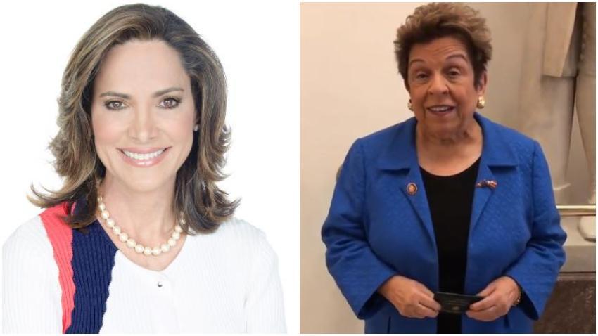 """Cubana María Elvira Salazar anunció que se volverá a presentar a las elecciones para el Congreso y asegura que su rival Donna Shalala """"No ha hecho nada"""""""
