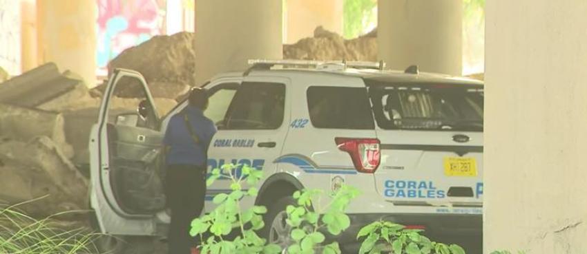 Roban patrulla de la casa de un oficial en Coral Gables